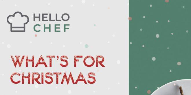 Χριστουγεννιάτικα meal-kits από την Hello-Chef