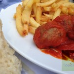 sotovikis-spiti κεφτεδάκια με σάλτσα με έντονα τα αρώματα της ανατολής και του κύμινου